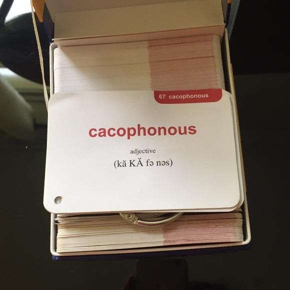 500 SAT VOCABULARY FLASH CARDS from Barron